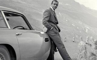 Sean Connery Stolen Aston Martin DB5