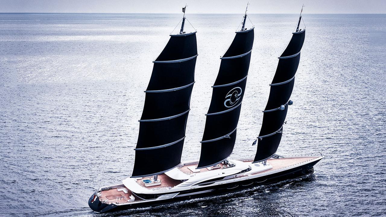 Oceanco Superyacht Black Pearl