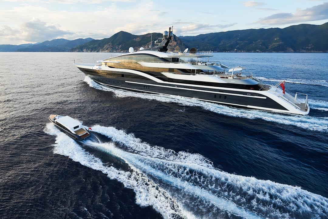 Oceanco Superyacht Dar
