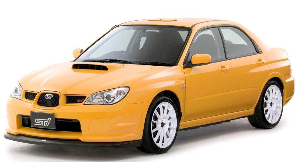 2007 subaru impreza wrx sti spec c ra r fast car history lesson