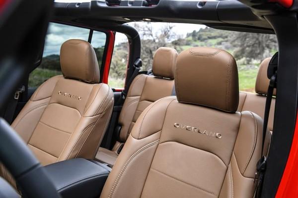 Jeep Gladiator Seats