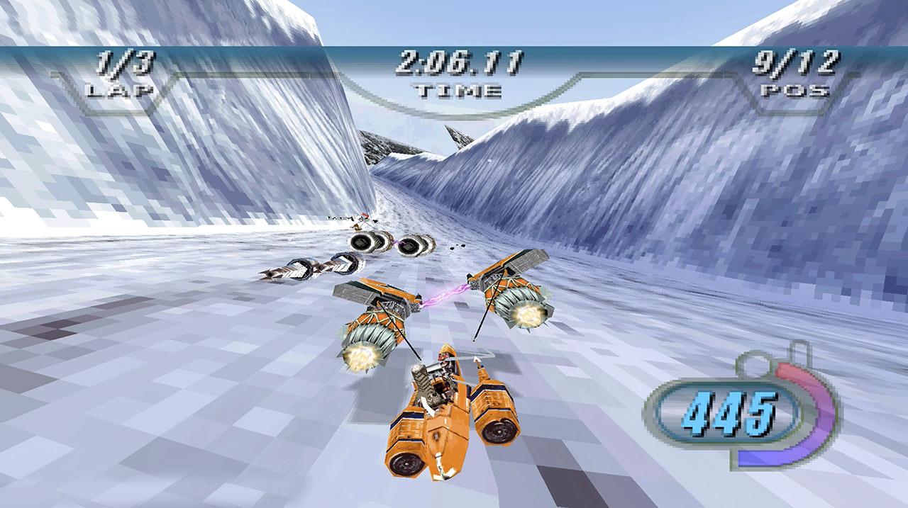 Star Wars Episode I Racer gameplay.