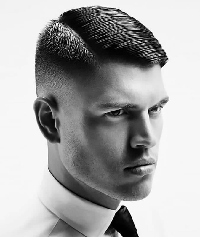 Short Comb-Over