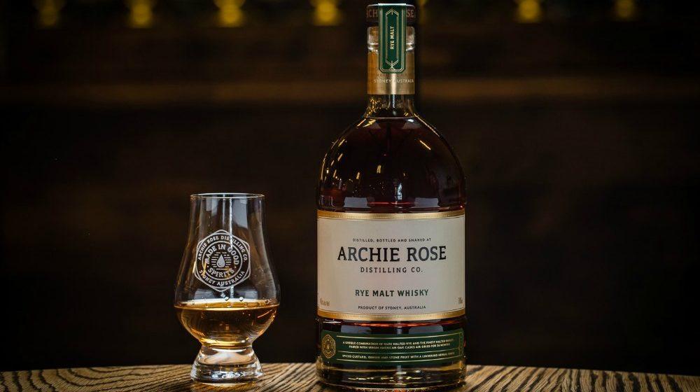 World Whiskies Awards 2020 - Archie Rose Best Rye