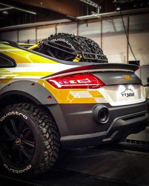 Audi S Tt Safari Is The Ultimate Off Road Weapon