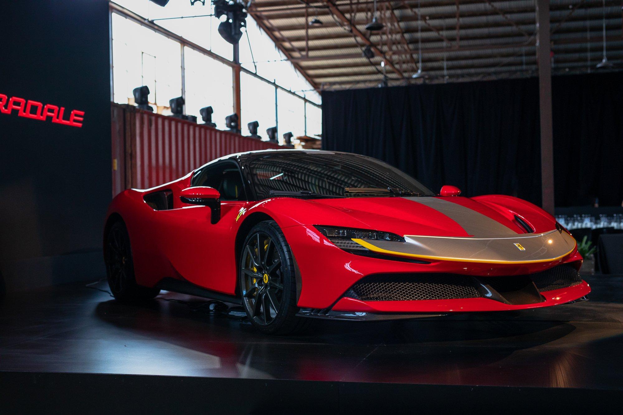 Ferrari S Sf90 Stradale Lands In Australia With A 1 Million Price Tag
