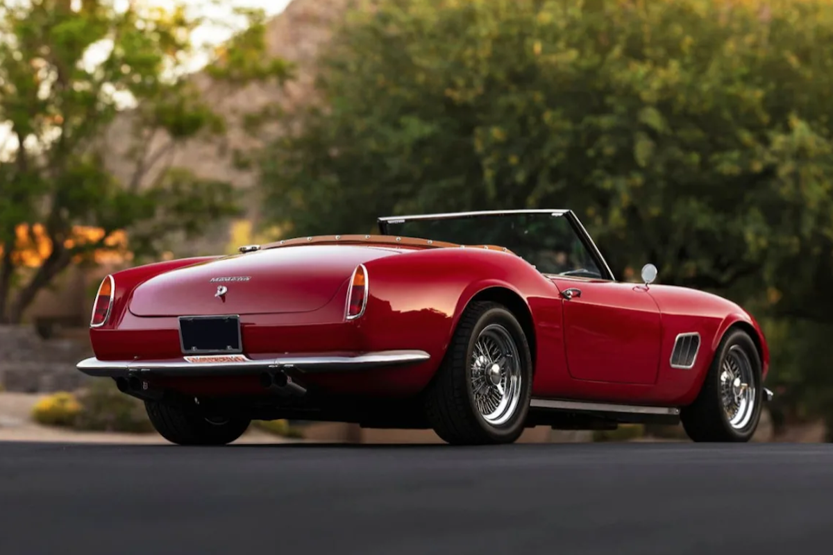 Own The Modena GT Spyder California Ferrari From 'Ferris ...