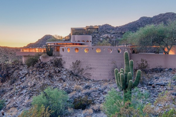 The Norman Lykes House Arizona By Frank Lloyd Wright Is Up ...