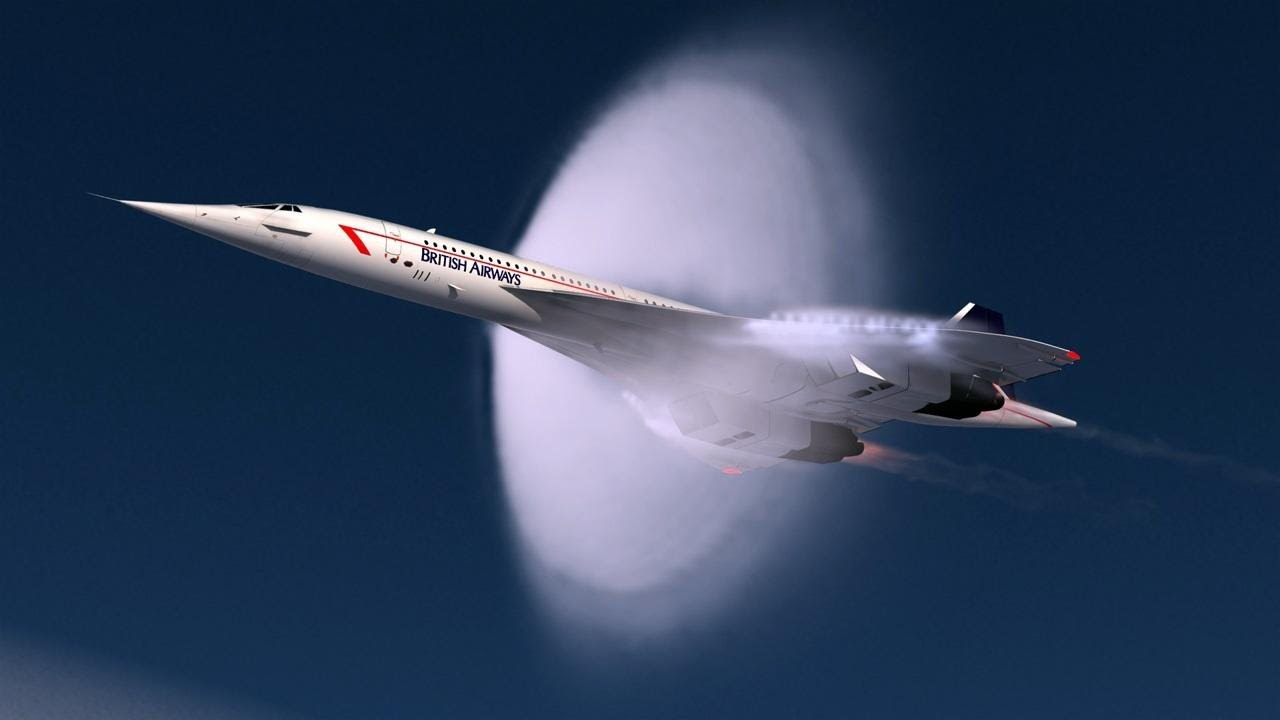 Listen To The Sonic Boom Of The Concorde At 60,000 Feet
