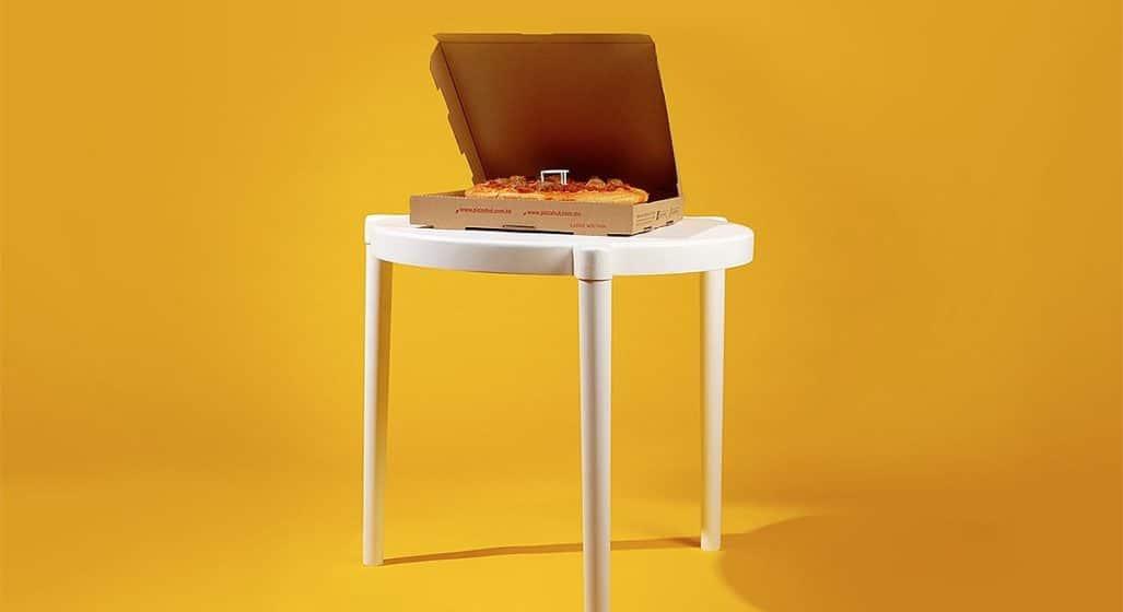 IKEA Pizza Table