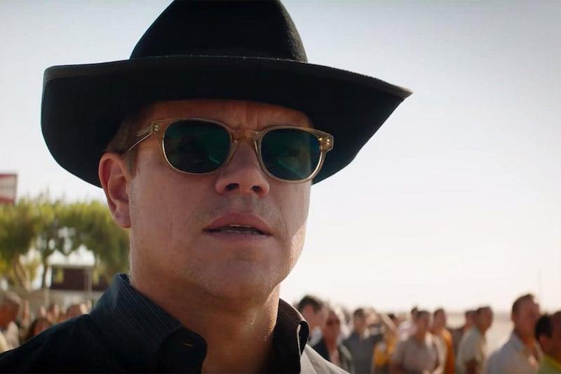 You Can Cop Matt Damon S Ford Vs Ferrari Sunglasses Here