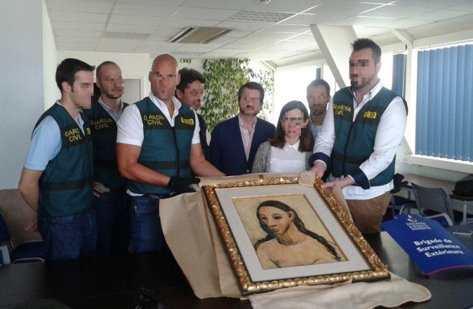 restitution picasso douane francaise guardia civil 4 1