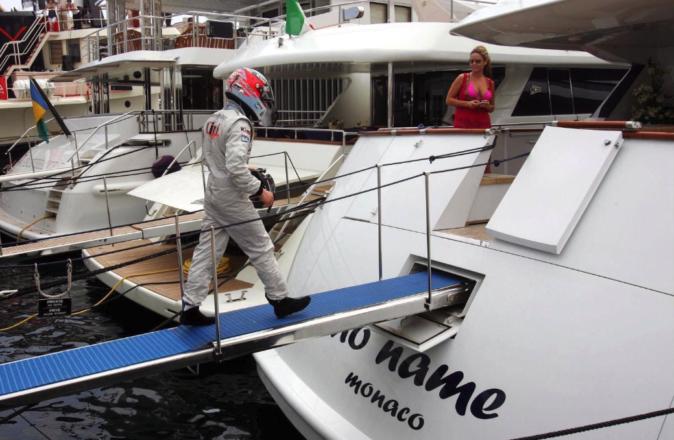 F1 Kimi Raikonnen Monaco Yacht