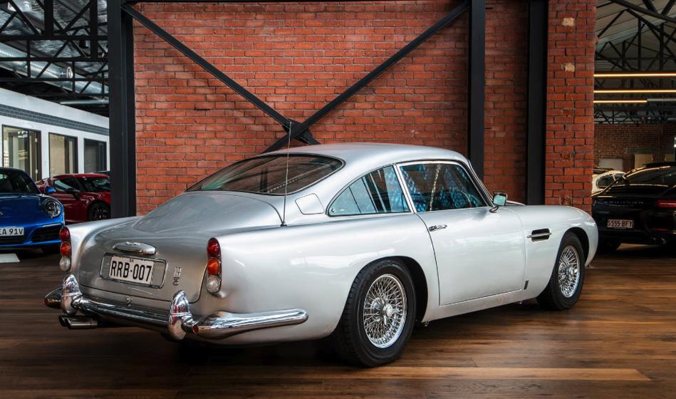 A Rare 1964 Aston Martin Db5 Is On Sale In Australia For Au 1 25 Million