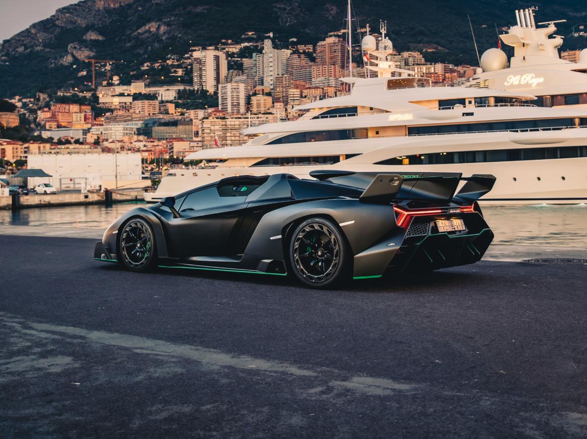 A Rare Lamborghini Veneno Roadster Has Just Resurfaced On The Market