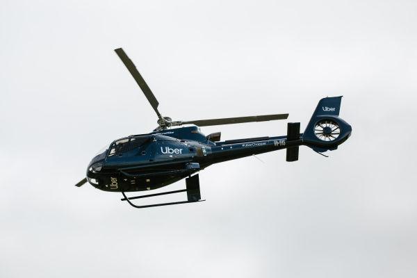 Uber Chopper Melbourne Cup