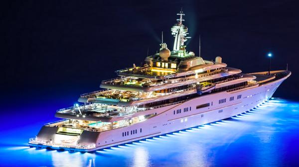 Roman Abramovich Yachts