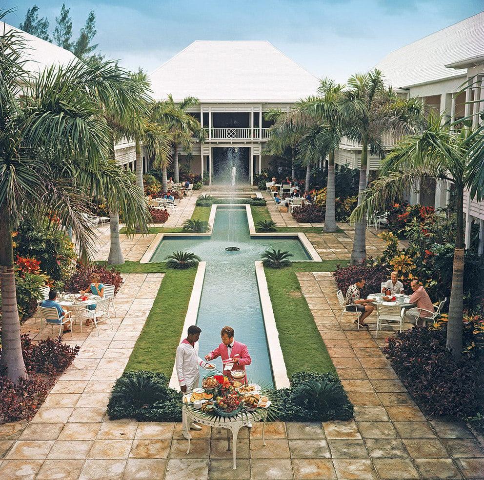 Slim Aarons Poolside