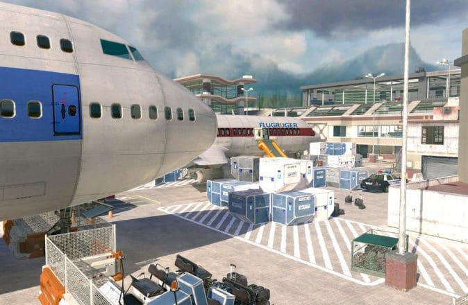 Modern Warfare 2 remastered multiplayer terminal map