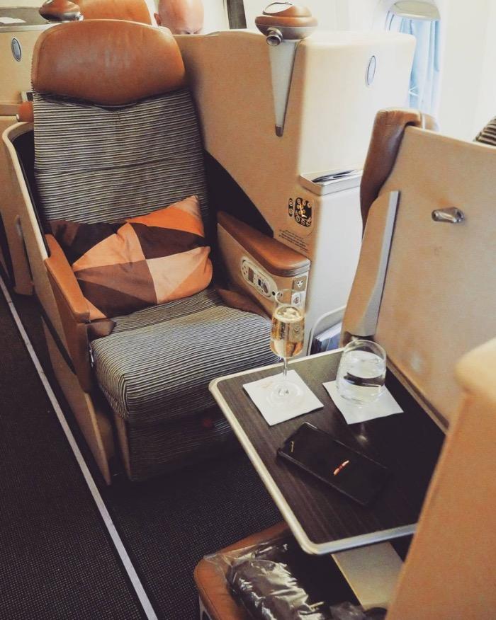 Etihad's 777 Business Class