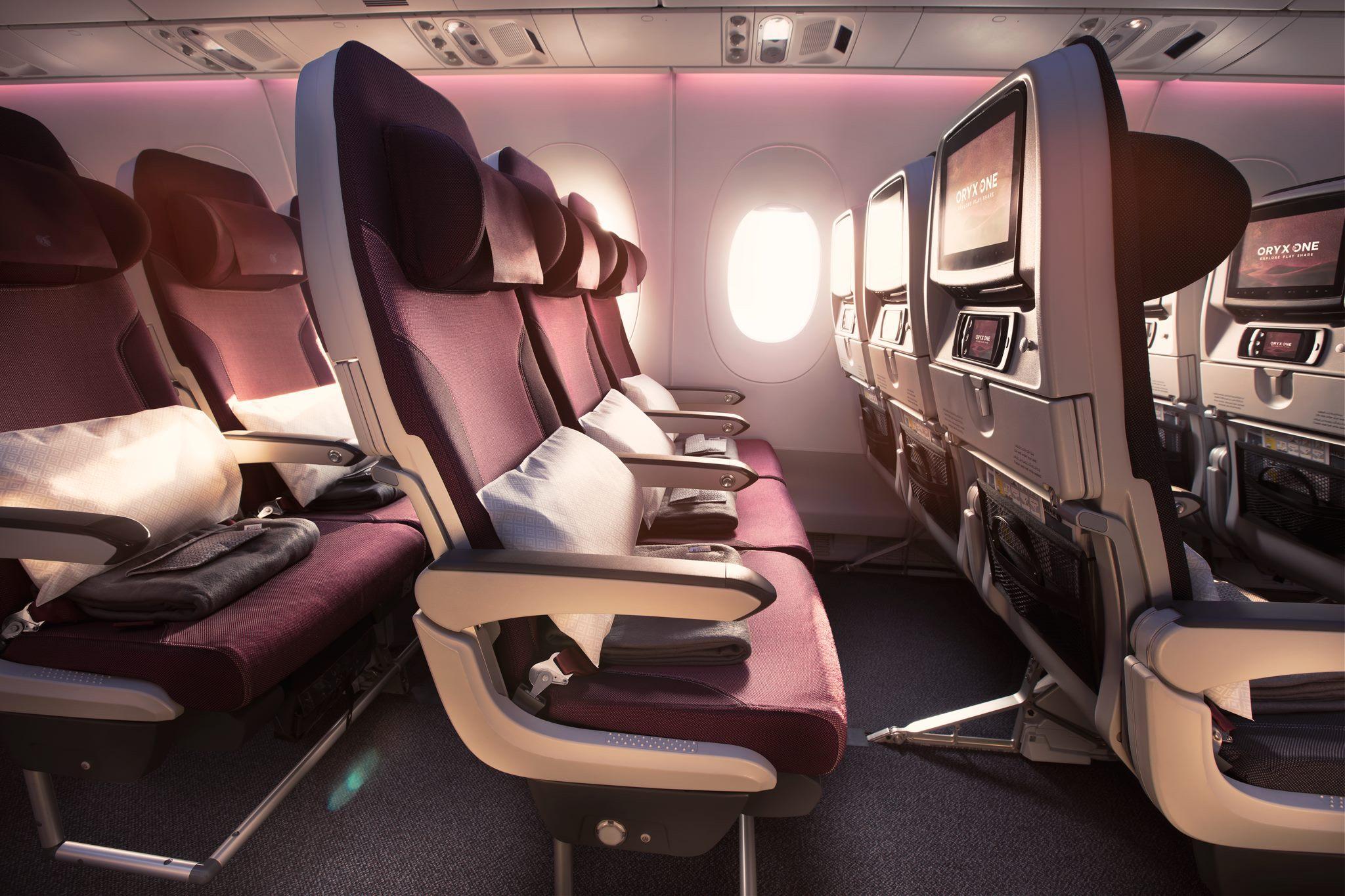 Qatar Airways Review: A380 Economy Class