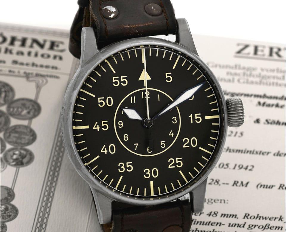 Lange & Söhne Vintage B-Uhr Type B (Antiquorum)