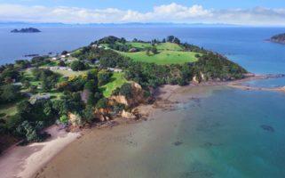 Pakatoa Island Drone