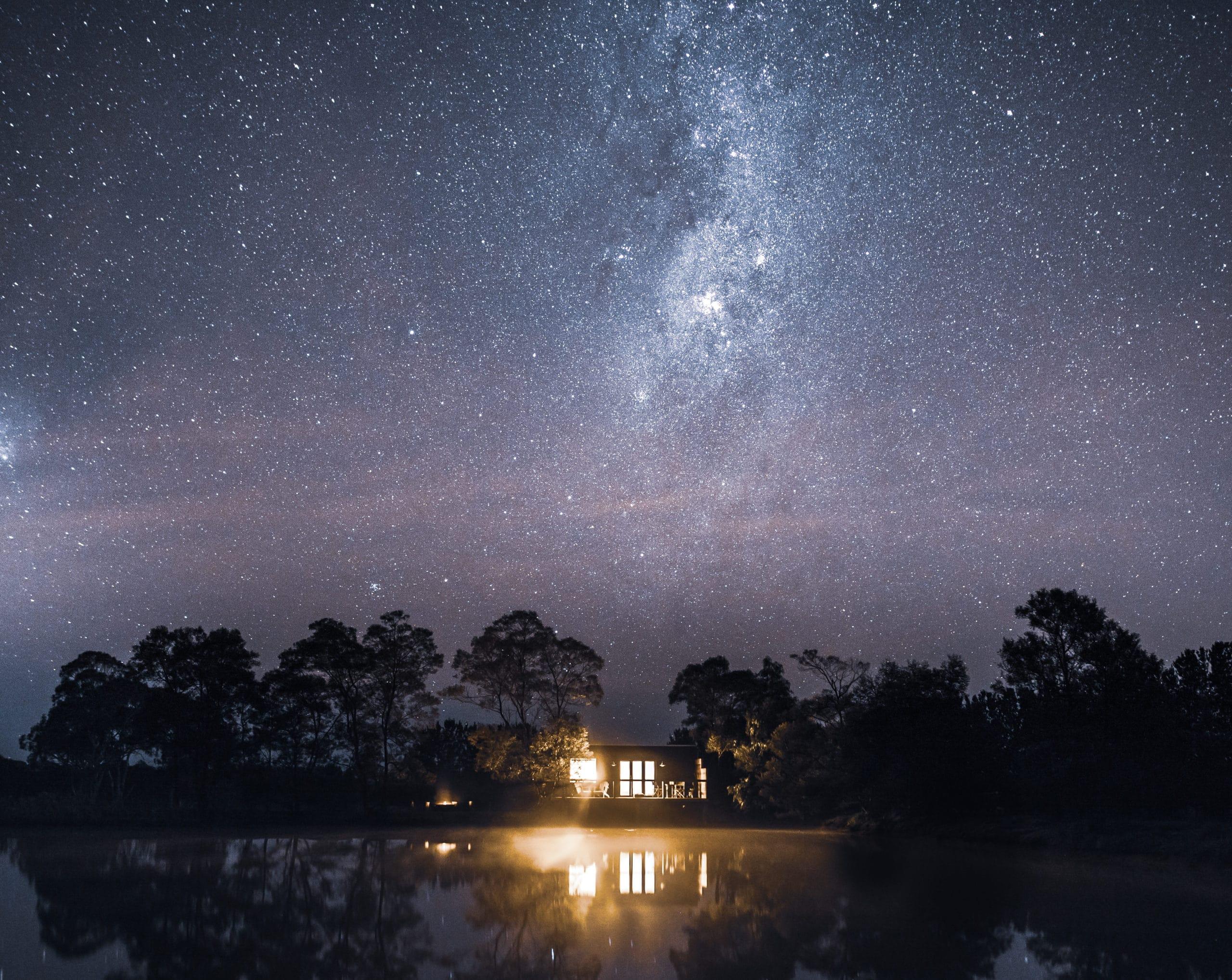 Hideout starry sky