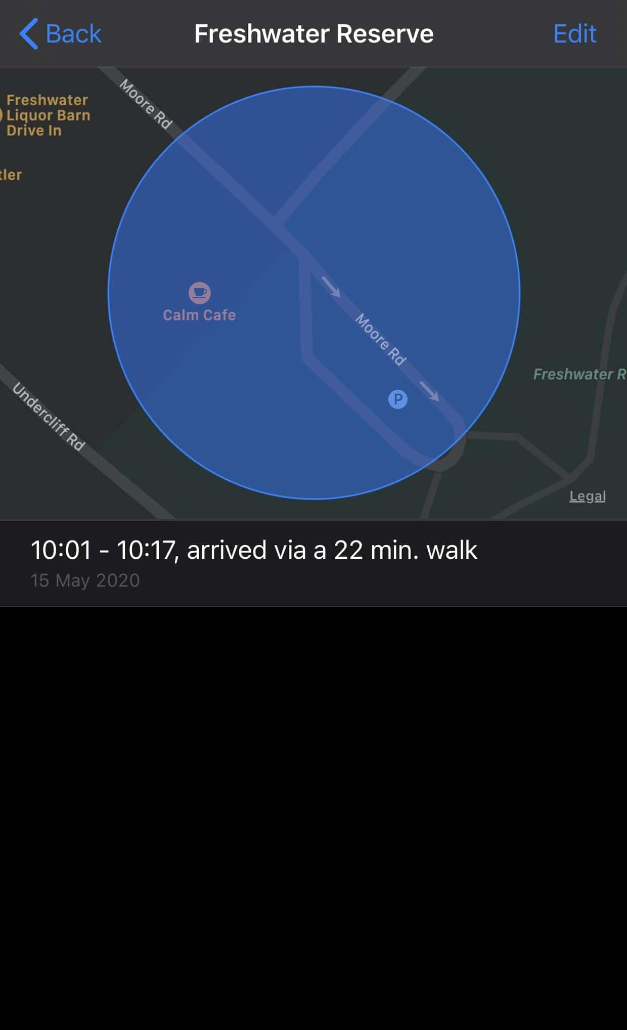iOS tracking