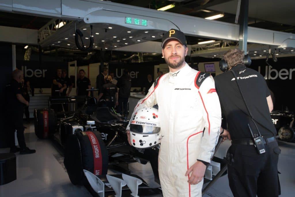 F1 Experience Jamie Perkens