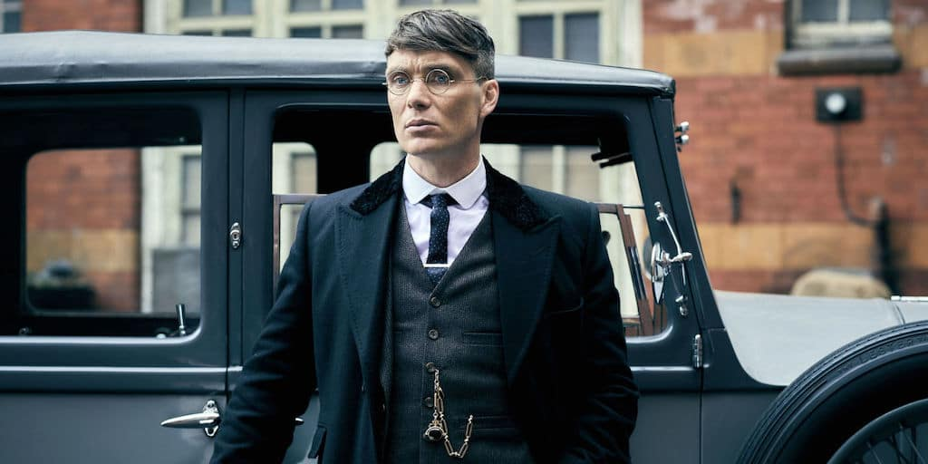Tommy Shelby and car