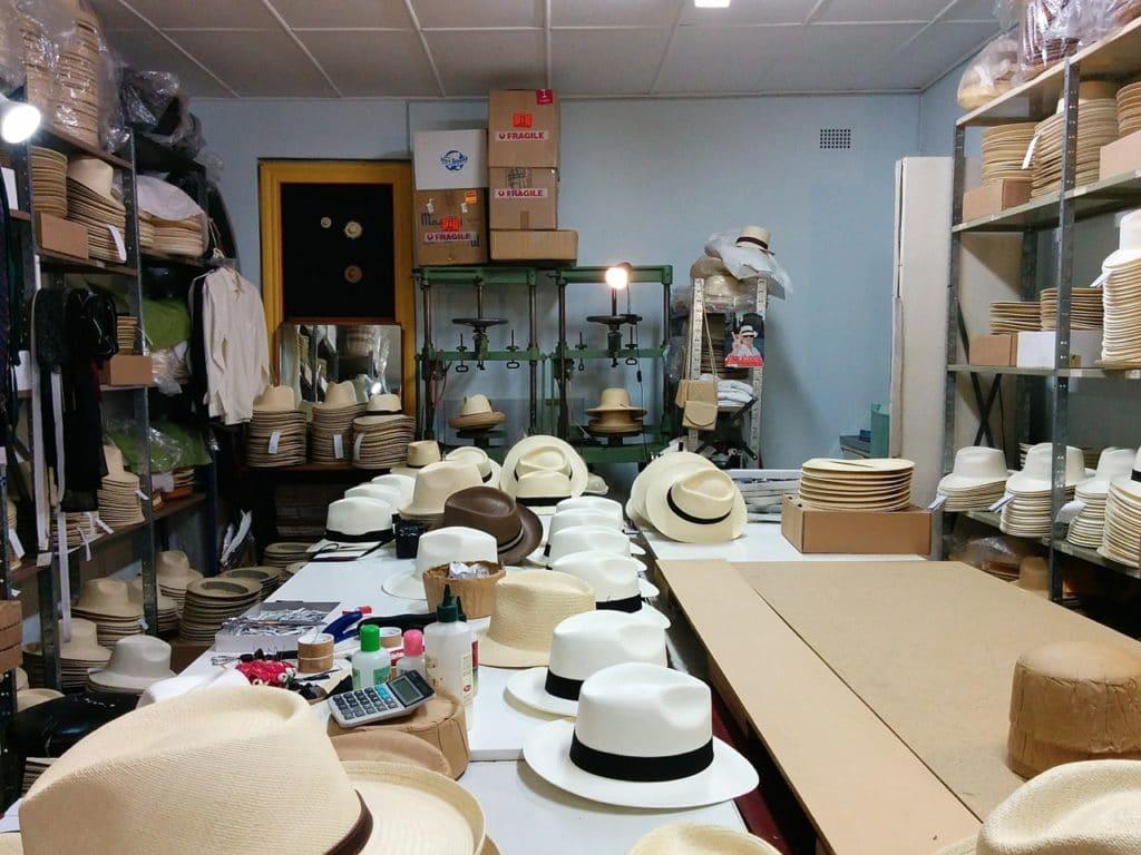 Panama Hat workshop