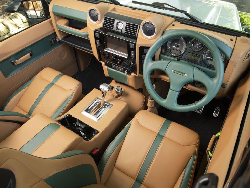 Overfinch interior