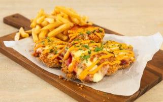 KFC Zinger Parmy Recipe