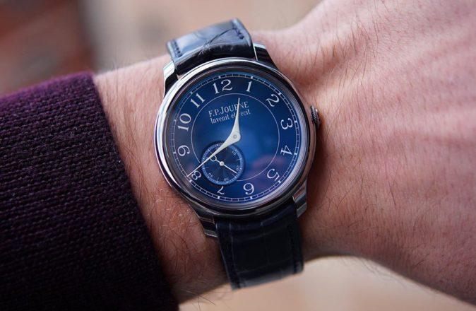 F.P. Journe Chronometre Bleu