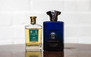 Vert Fougère and Interlude Black Iris