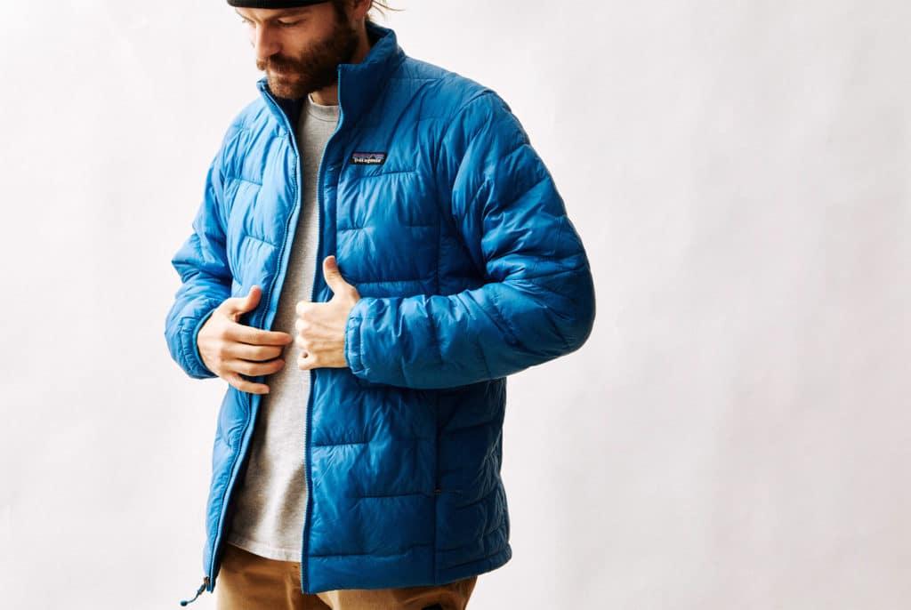 Patagonia men's puffer jacket
