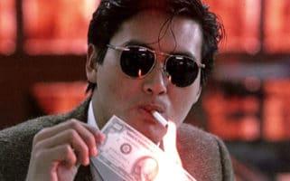 Chow Yun Fat Better Tomorrow Smoking Money Win Lottery