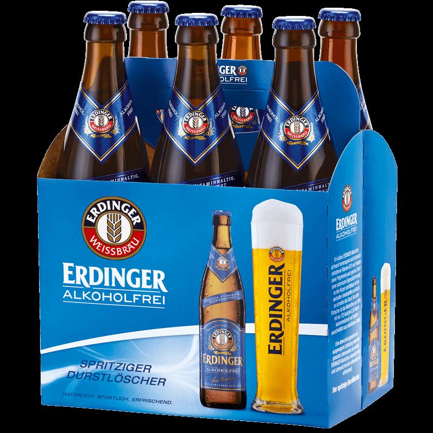 ERDINGER Alkoholfrei Non-Alcoholic Beers