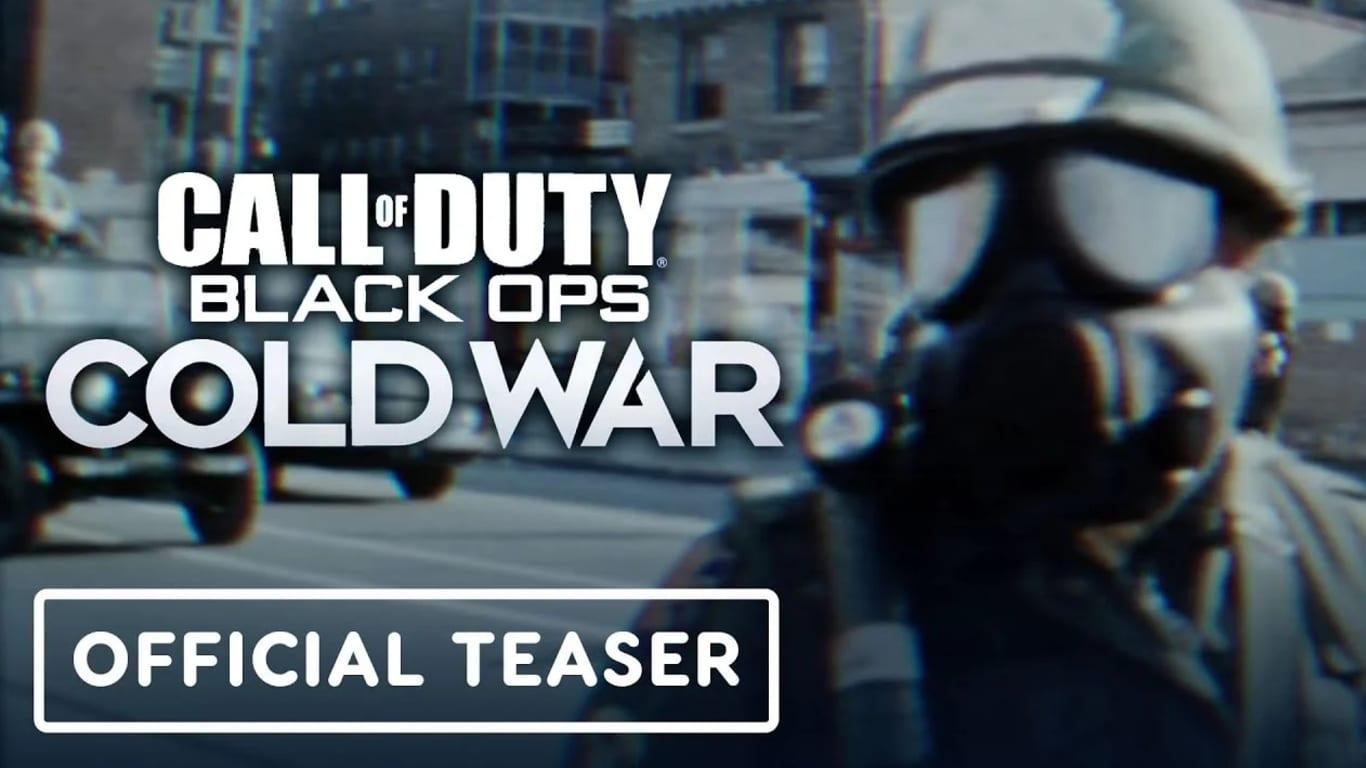 Call Of Duty Black Ops Cold War Has Been Confirmed