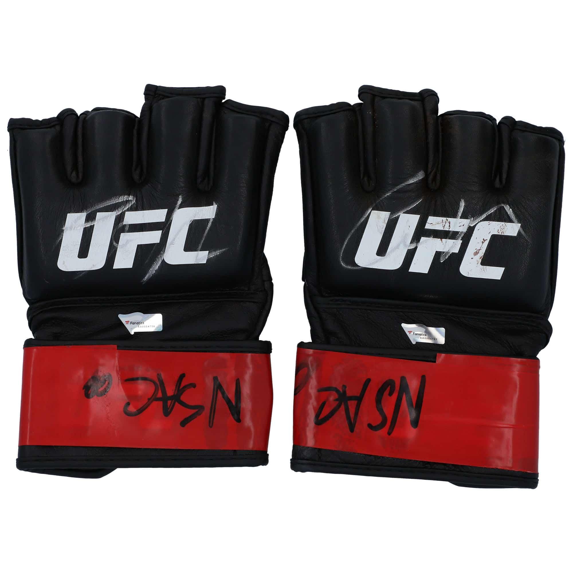Conor McGregor UFC 246 Auction - Gloves & Wraps