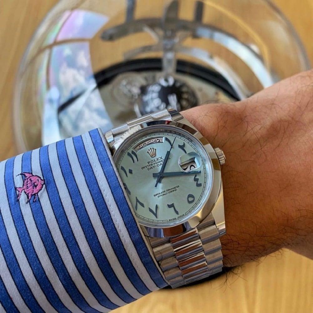 Rolex Day-Date 40 Platinum