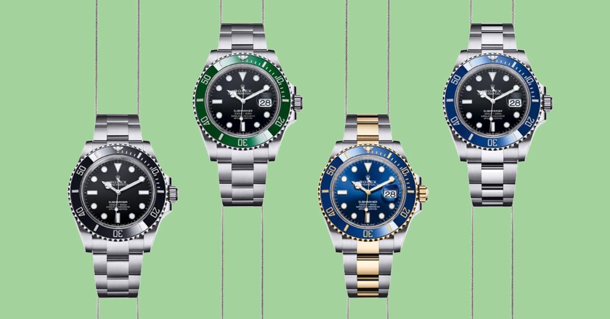 New Rolex Submariner