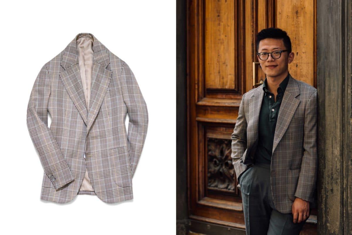 Lafayette Saltiel Drapiers jacket