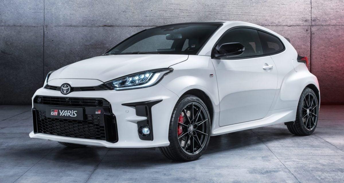 Toyota GR Yaris Top Gear