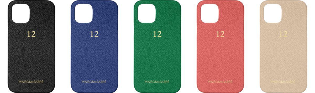 MAISON de SABRÉ iPhone 12 Case