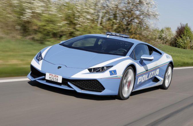 Italian Police Lamborghini Kidney