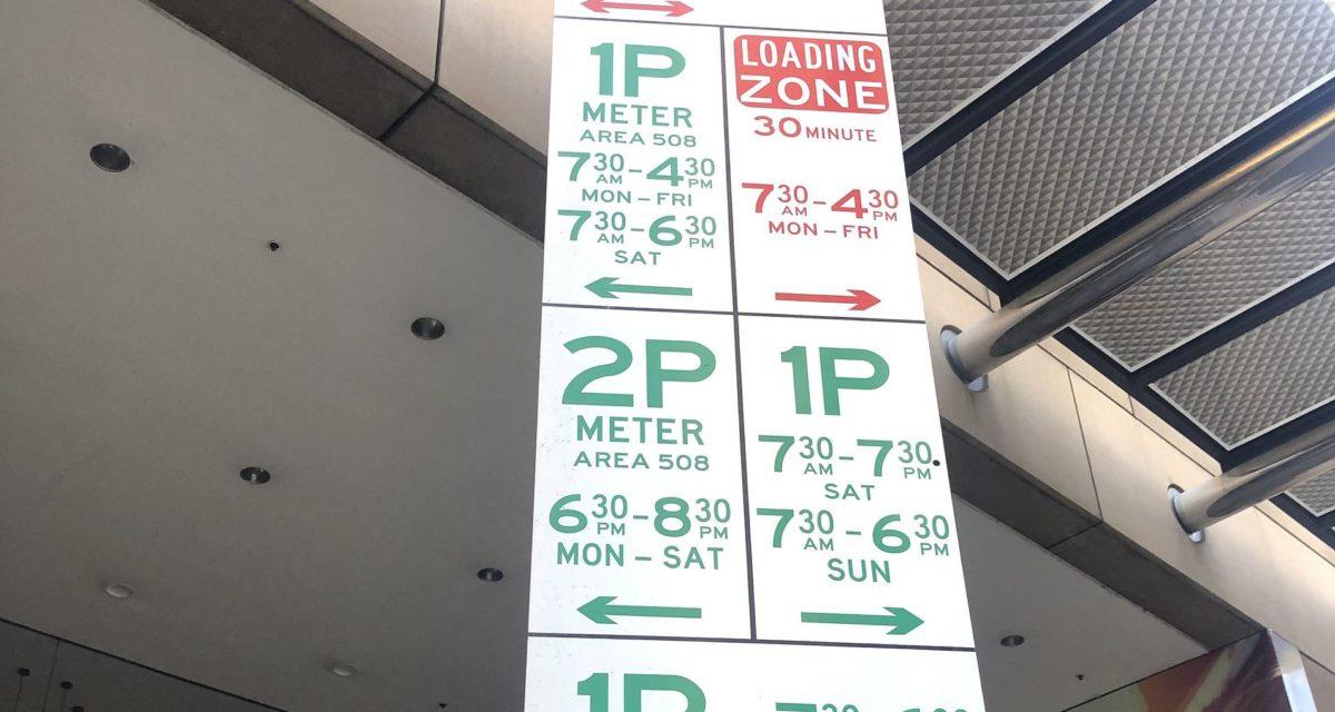 Melbourne CBD Free Parking December
