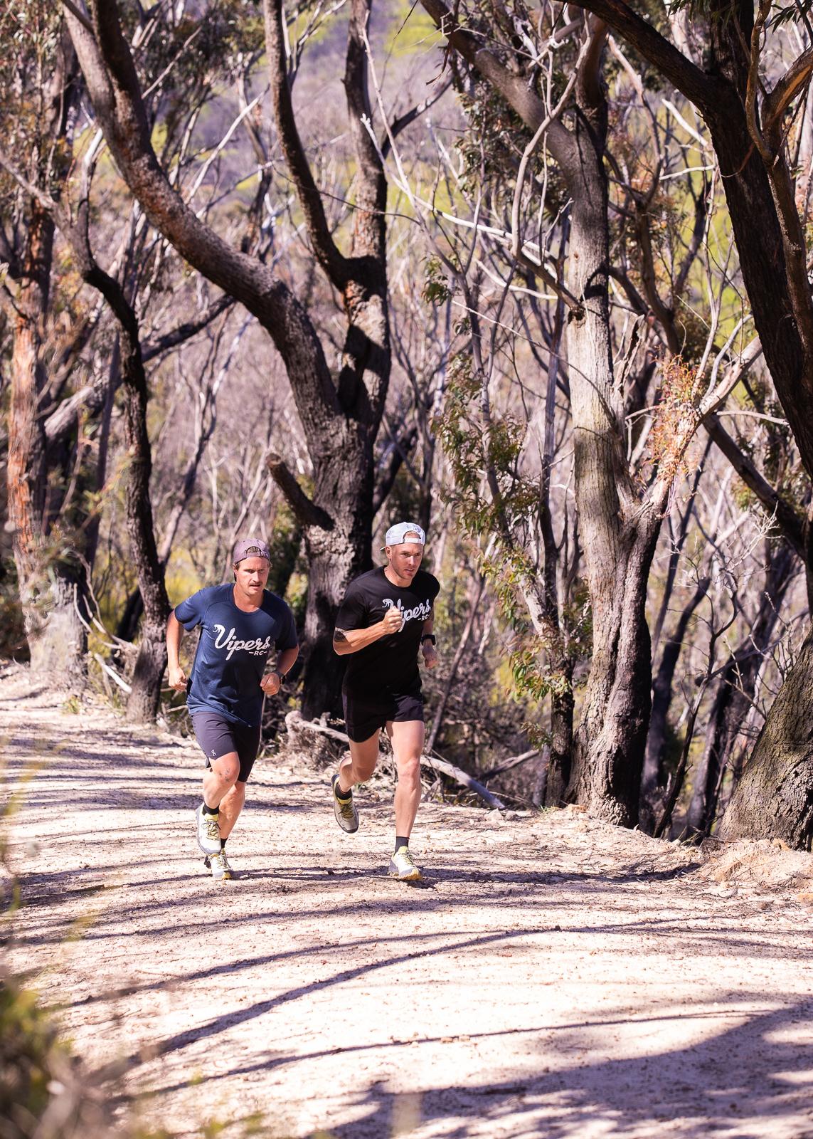 Matt Abel and Olly Woolrych Vipers Run Club
