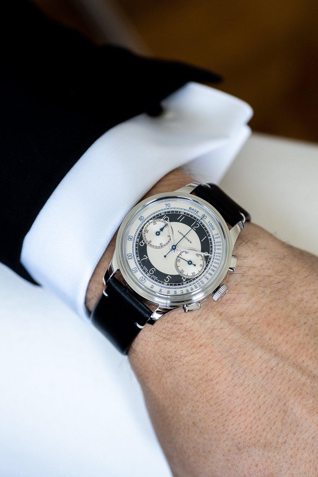 Longines Heritage Tuxedo Chronograph